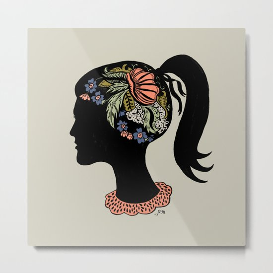 Thought Patterns Metal Print
