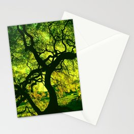 Green is the Tree Stationery Cards