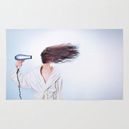 hair comic wind 4 Rug