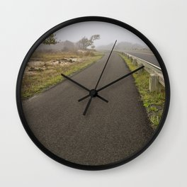 Misty Assateague Route Wall Clock