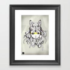 Be A Warrior Framed Art Print