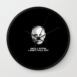 Pull Out Wall Clock