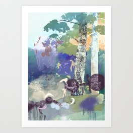 Mother Creatures Art Print