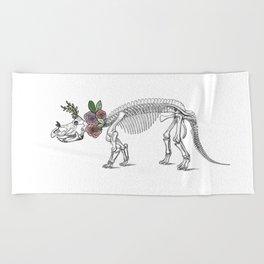 Tri-rosie-tops Beach Towel