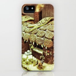 Christmas Gingerbread House iPhone Case