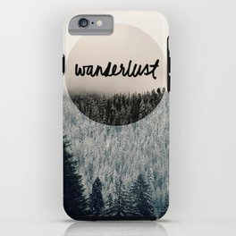 Wanderlust iPhone Case