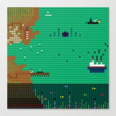A Coded Message #3 Canvas Print