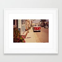 vw bus Framed Art Prints featuring VW BUS by INEVITABLE 27