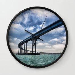 Coronado Bridge Wall Clock