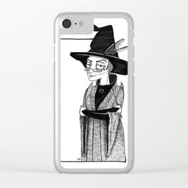 McGonagall Clear iPhone Case