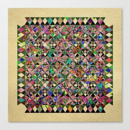 Geo Mosaic Canvas Print