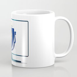 Massachusetts Flag TV Coffee Mug