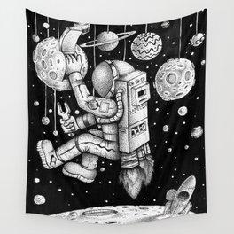 Galaxy Repairman Wall Tapestry
