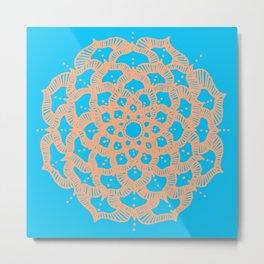 Mandala II Metal Print