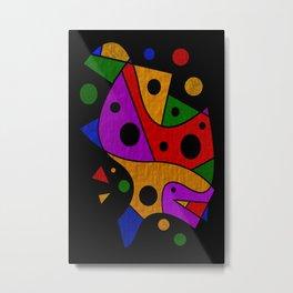 Abstract #216 Metal Print