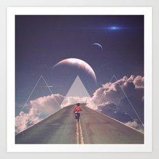 'Distant Star Run' Art Print