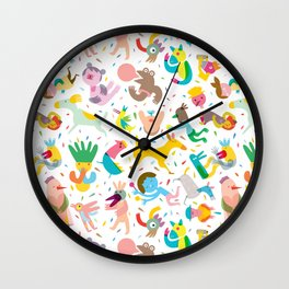 Party! Wall Clock