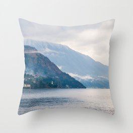 Beautiful landscape of Italy Throw Pillow