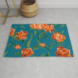 Rosalie #floral #pattern Rug