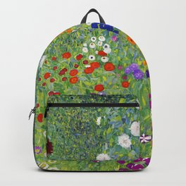 Flower Garden - Gustav Klimt Backpack