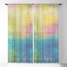 Dimensions Sheer Curtain