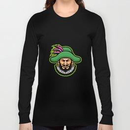 Minstrel Mascot Long Sleeve T-shirt