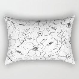 Floral Simplicity Rectangular Pillow