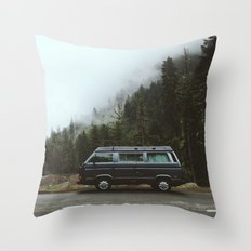 Northwest Van Throw Pillow