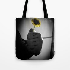 Kind Flower Tote Bag