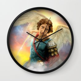 Saint Michael the Archangel Wall Clock