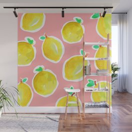 Lemon Crush 2 Wall Mural
