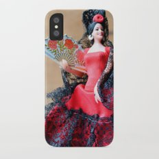 Flamenco doll  iPhone X Slim Case