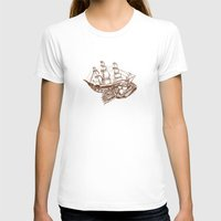 moby dick T-shirts featuring Moby by Lindsey Caneso
