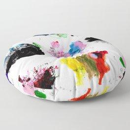 9 abstract rituals (2) Floor Pillow