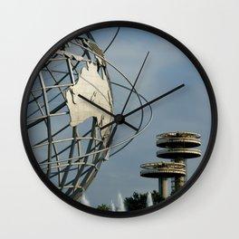 NY Unisphere Queens Wall Clock