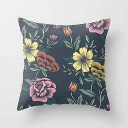 Floral Art #8 Throw Pillow
