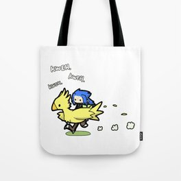 Saix and Chocobo Tote Bag
