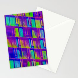 NYC architecture gradient 0696 Stationery Cards