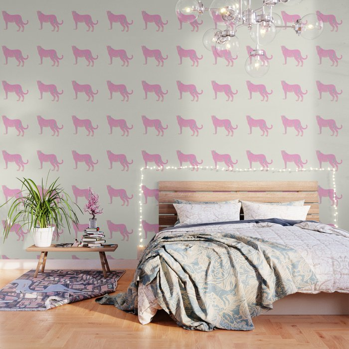 PINK STAR CHEETAH Wallpaper by whatalife