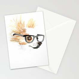 Chihuahua Hipster Stationery Cards