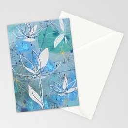Lotus Blossoms Stationery Cards
