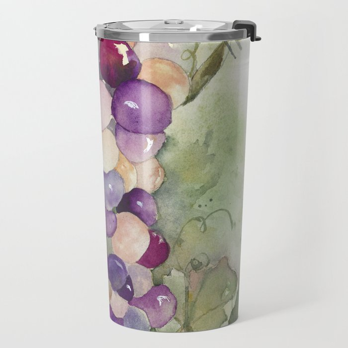 Wine Grapes 2 Travel Mug