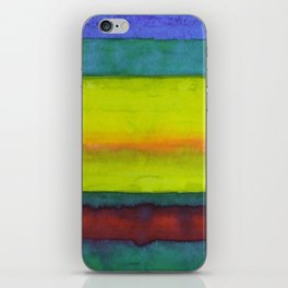 Summer Fields Stripes iPhone Skin