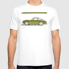Porsche 911 / IV White Mens Fitted Tee MEDIUM