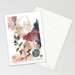Botanical Calmness Stationery Cards