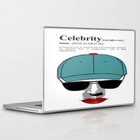 celebrity Laptop & iPad Skins featuring Celebrity by jt7art&design