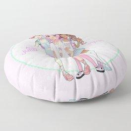 Harajuku Squad Floor Pillow