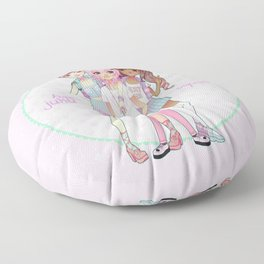 Harajuku Squad Floor Pillow
