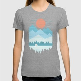 Cabin In The Snow T-shirt