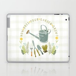 How Does Your Garden Grow? Laptop & iPad Skin